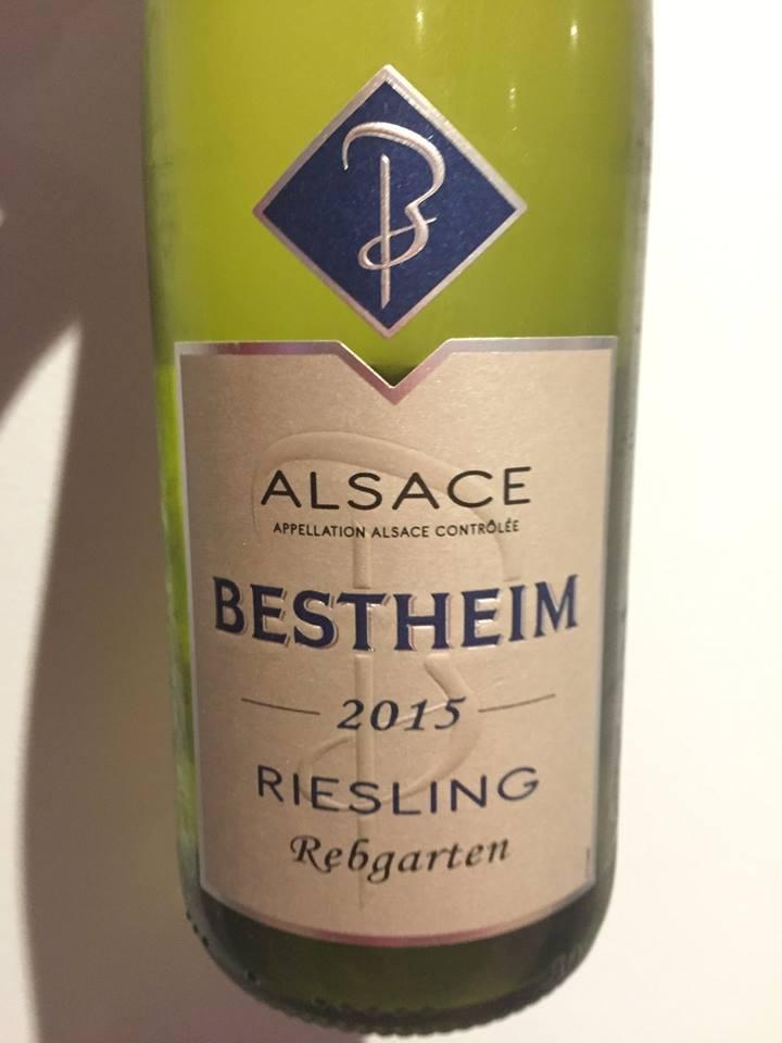 Bestheim – Riesling 2015 – Rebgarten – Alsace