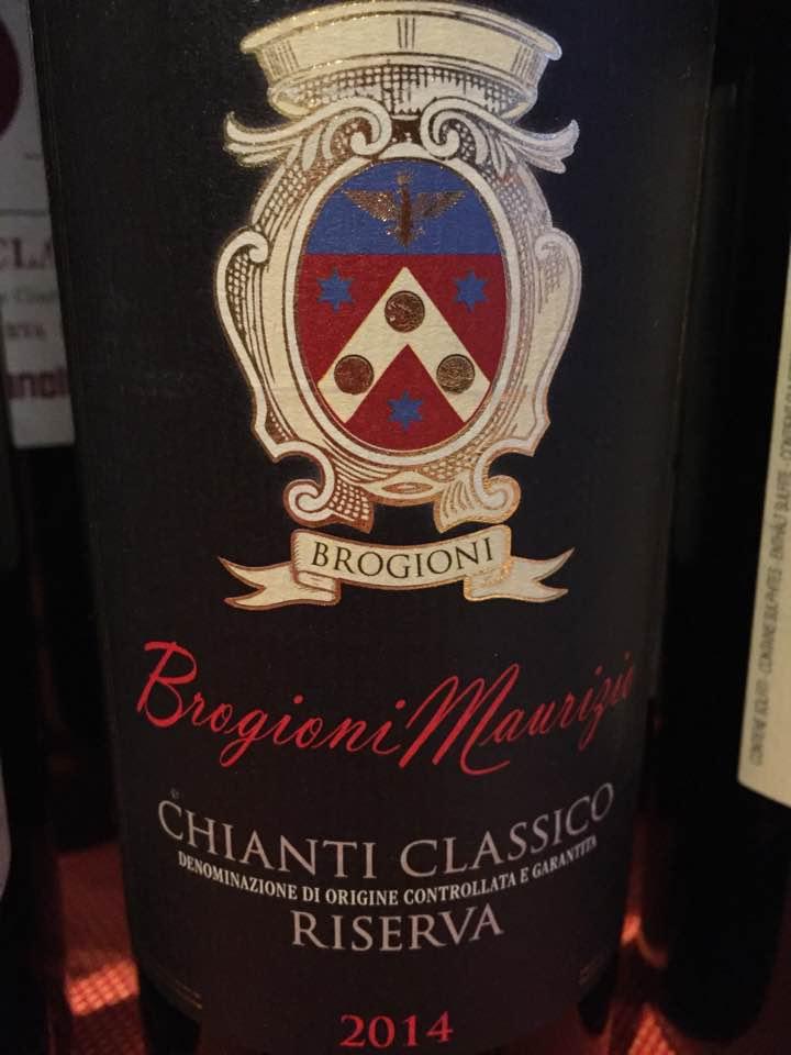 Brogioni Maurizio 2014 – Chianti Classico Riserva