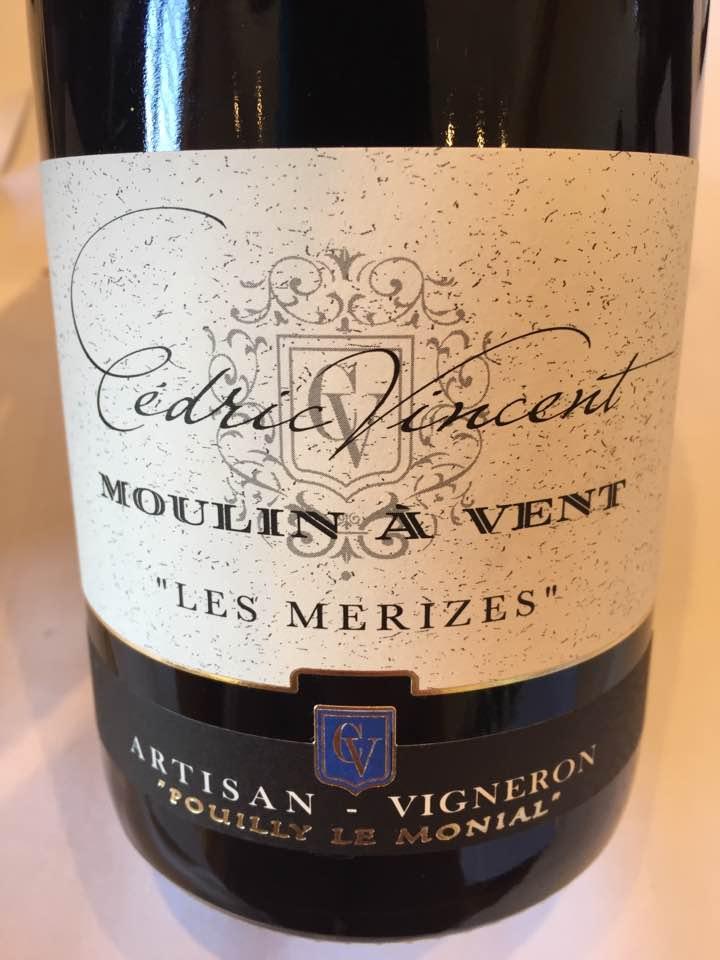 Cédric Vincent – Les Merizes 2015 – Moulin-à-Vent
