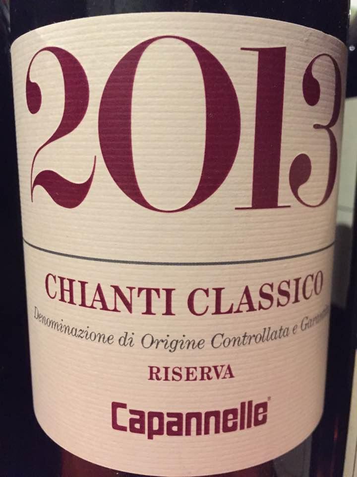 Capanelle 2013 – Chianti Classico Riserva