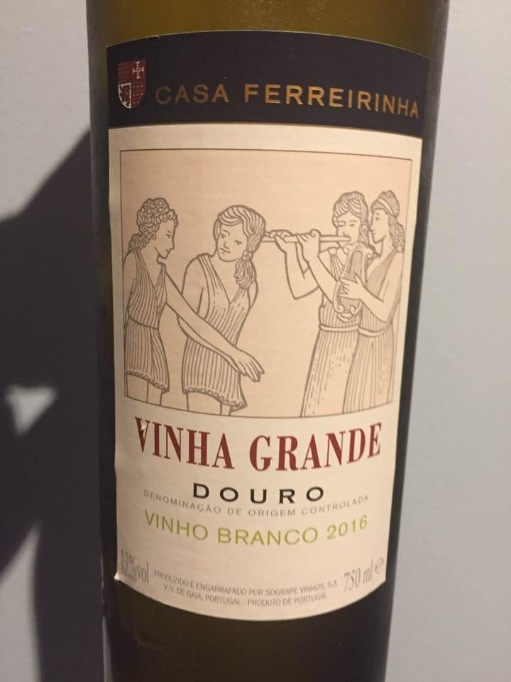Casa Ferreirinha – Vinha Grande – Vinho Branco 2016 – Douro