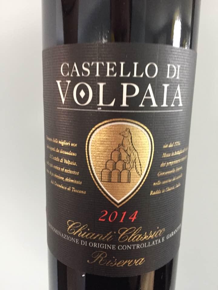 Castello di Volpaia 2014 – Chianti Classico Riserva