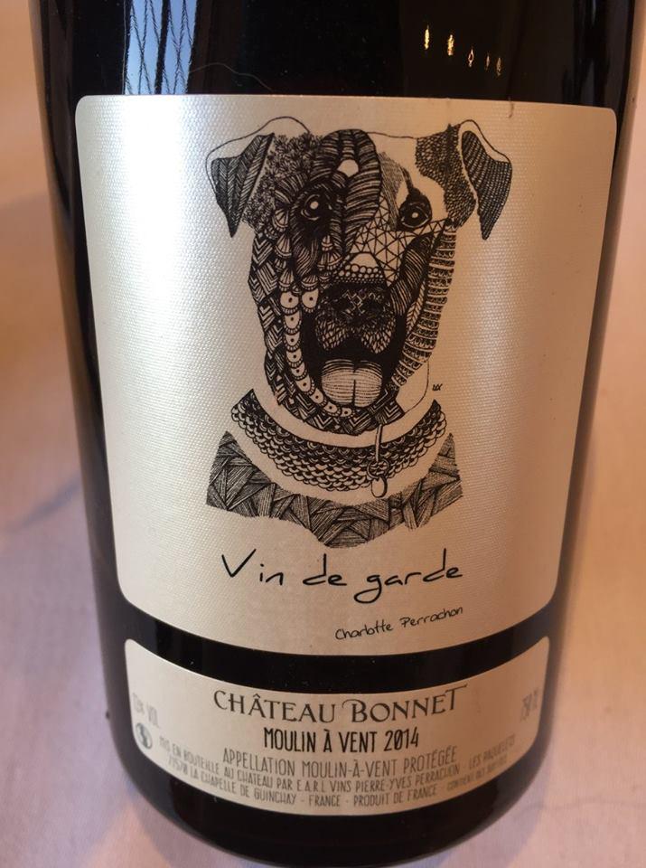 Château Bonnet – Vin de Garde 2014 – Charlotte Perrachon – Moulin-à-Vent
