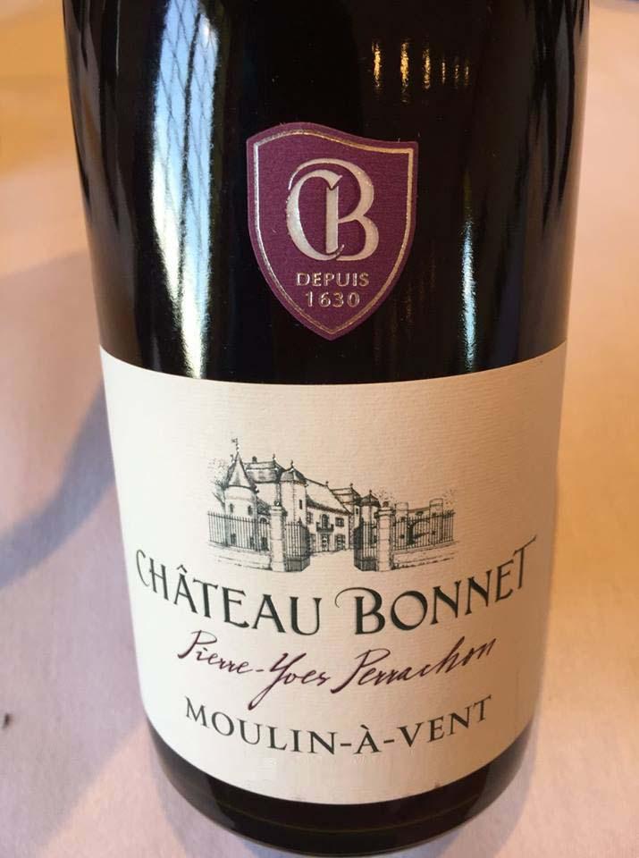 Château Bonnet 2016 – Moulin-à-Vent