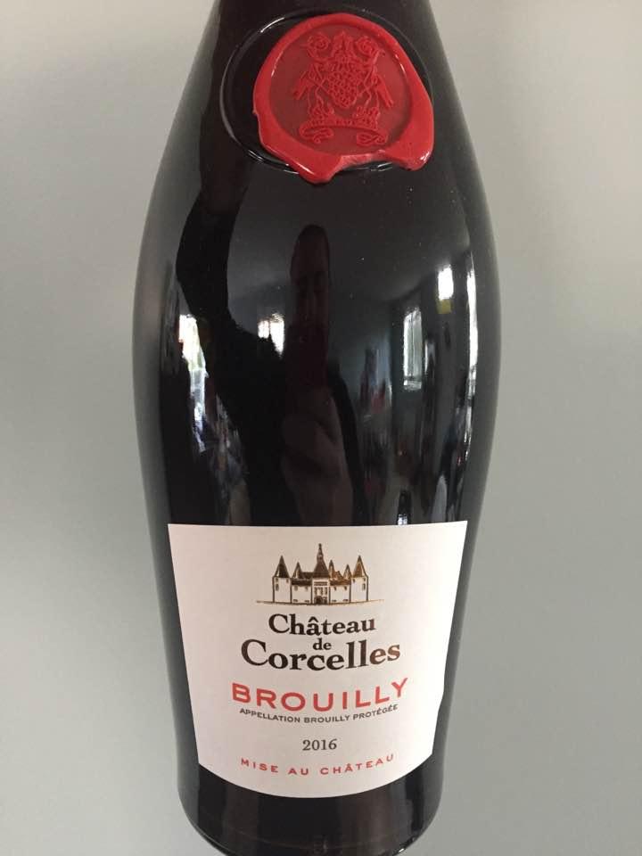Château de Corcelles 2016 – Brouilly