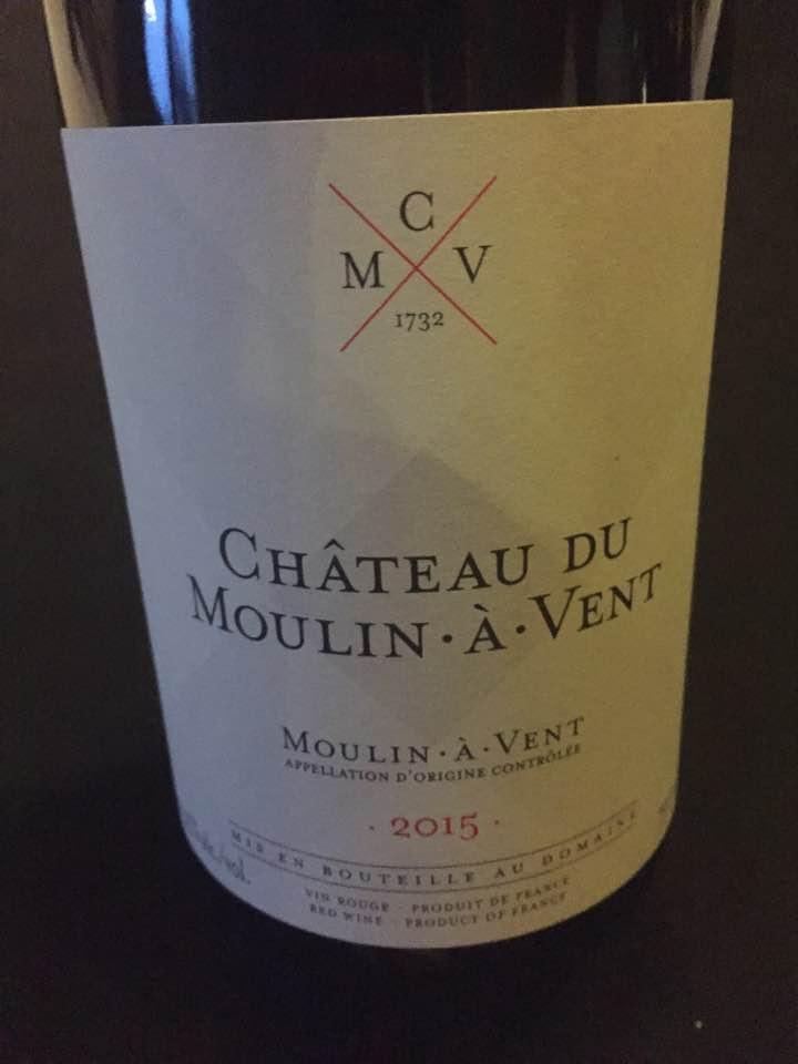 Château du Moulin à Vent 2015 – Moulin-à-Vent