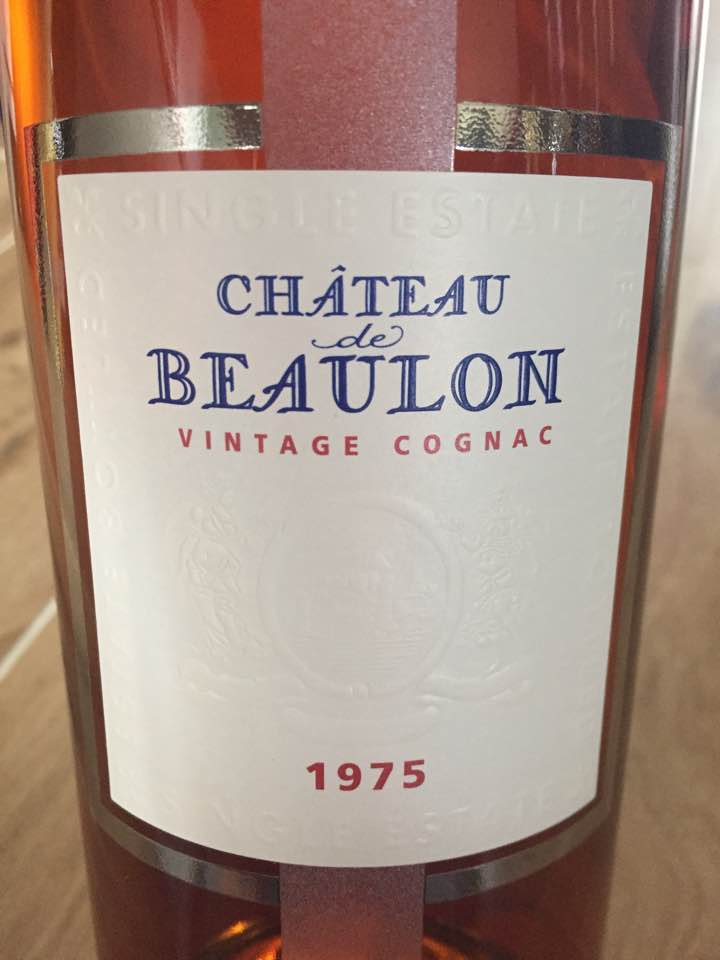 Château de Beaulon – Vintage 1975 – Single Estate – Cognac