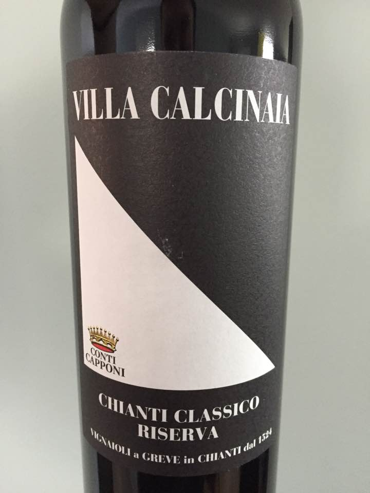 Conti Capponi – Villa Calcinaia 2014 – Chianti Classico Riserva