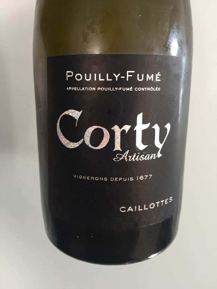 Corty – Caillotes 2016 – Pouilly-Fumé