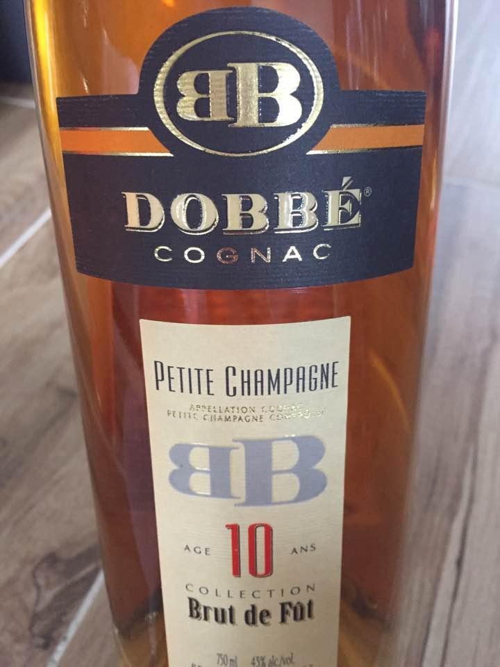 Dobbé – 10 ans – Collection Brut de Fût – Cognac, Petite Champagne