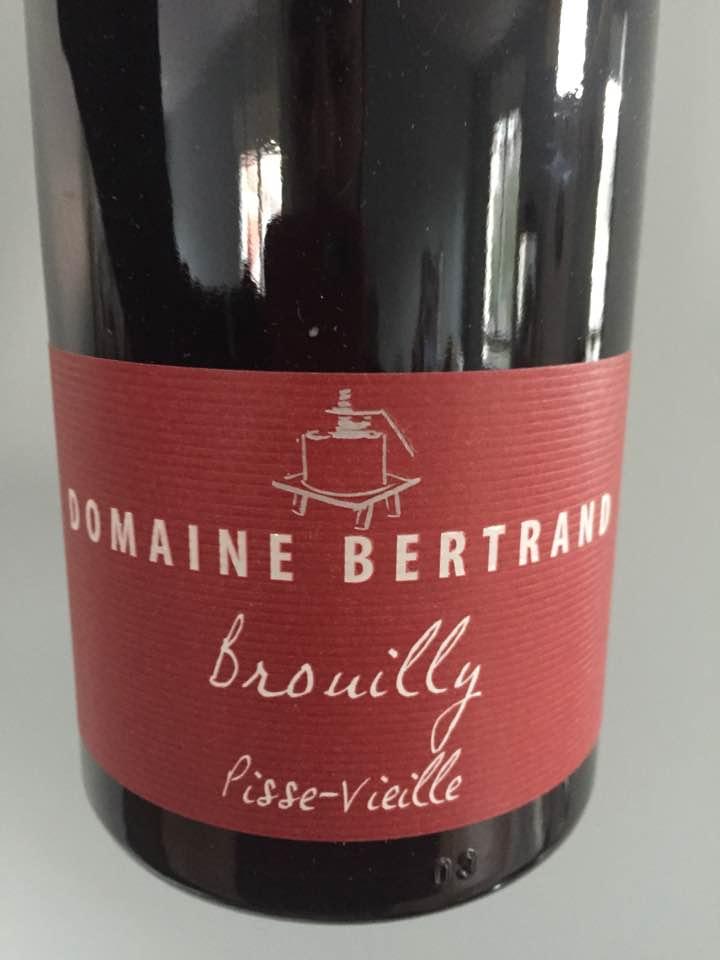 Domaine Bertrand – Pisse-Vieille 2015 – Brouilly