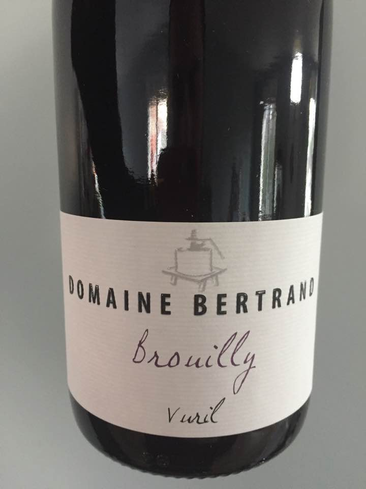 Domaine Bertrand – Vuril 2016 – Brouilly