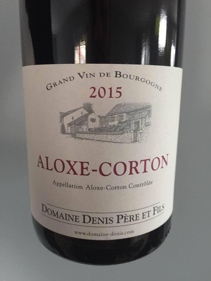 Domaine Denis Père et Fils 2015 – Aloxe-Corton