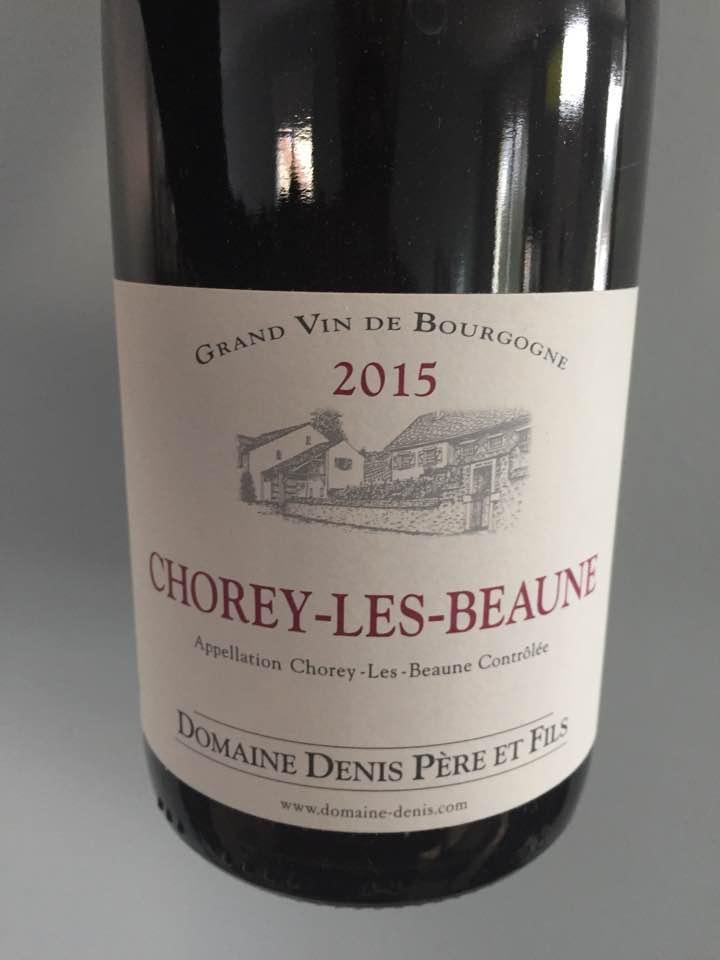 Domaine Denis Père et Fils 2015 – Chorey-Les-Beaune