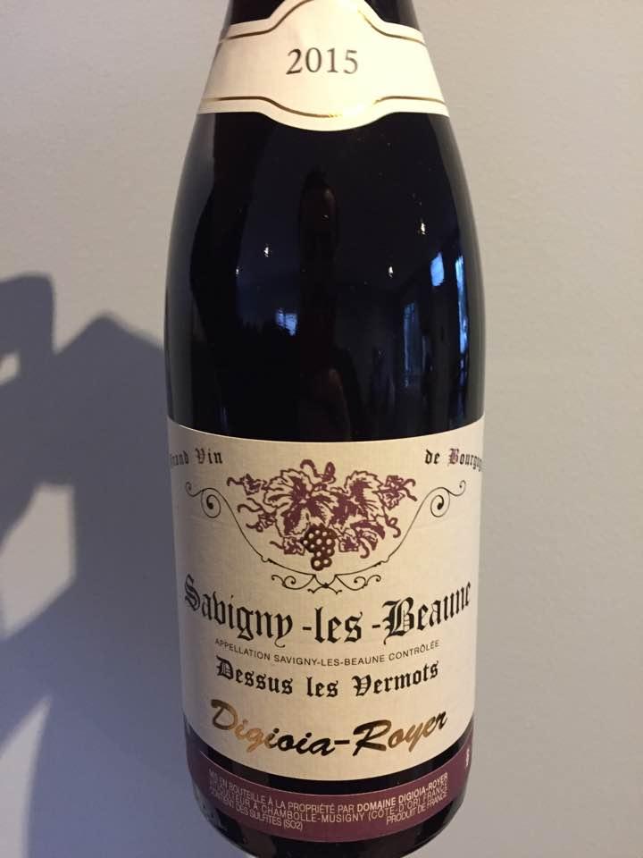 Domaine Digioia-Royer – Dessus les Vermots 2015 – Savigny-Les-Beaune