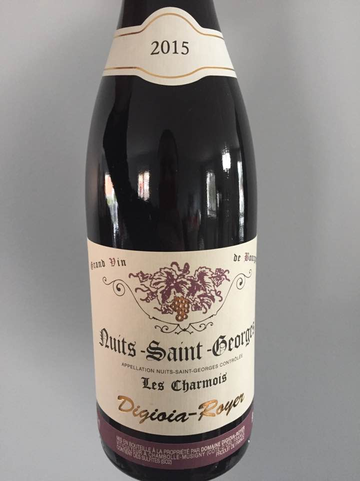 Domaine Digioia-Royer – Les Charmois 2015 – Nuits-Saint-Georges