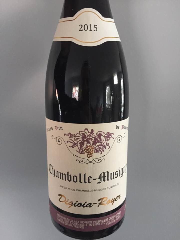 Domaine Digioia-Royer 2015 – Chambolle-Musigny