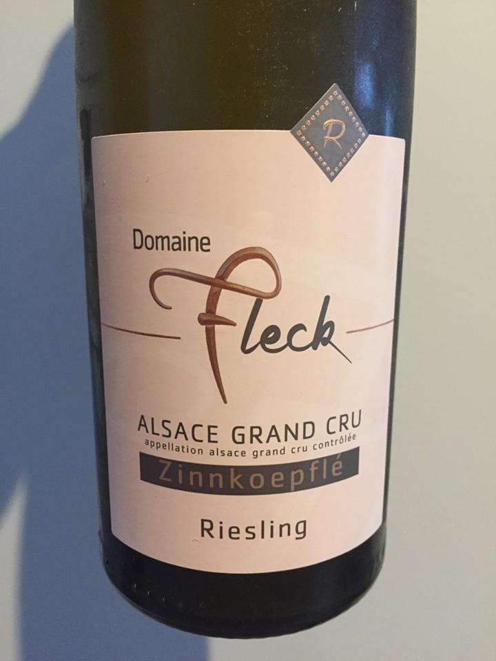 Domaine Fleck – Riesling 2015 – Zinnkoepflé – Alsace Grand Cru