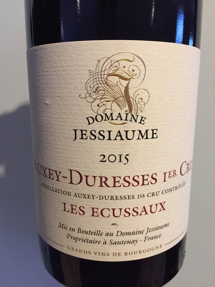 Domaine Jessiaume – Les Ecussaux 2015 – Auxey-Duresses 1er Cru