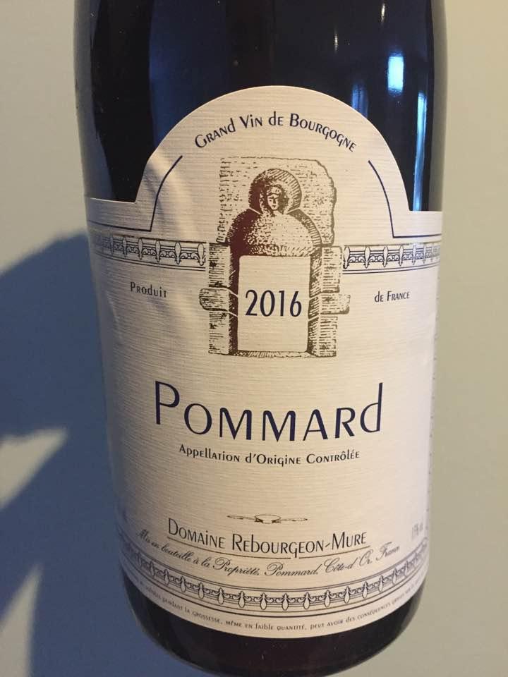 Domaine Rebourgeon-Mure 2016 – Pommard