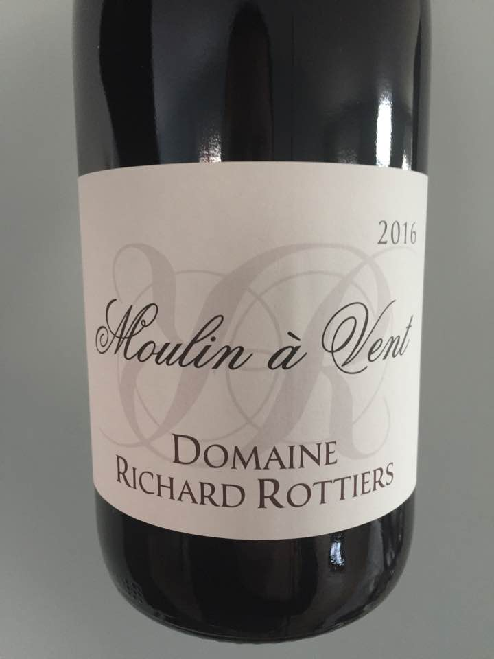 Domaine Richard Rottiers – Foudres 2016 – Moulin-à-Vent