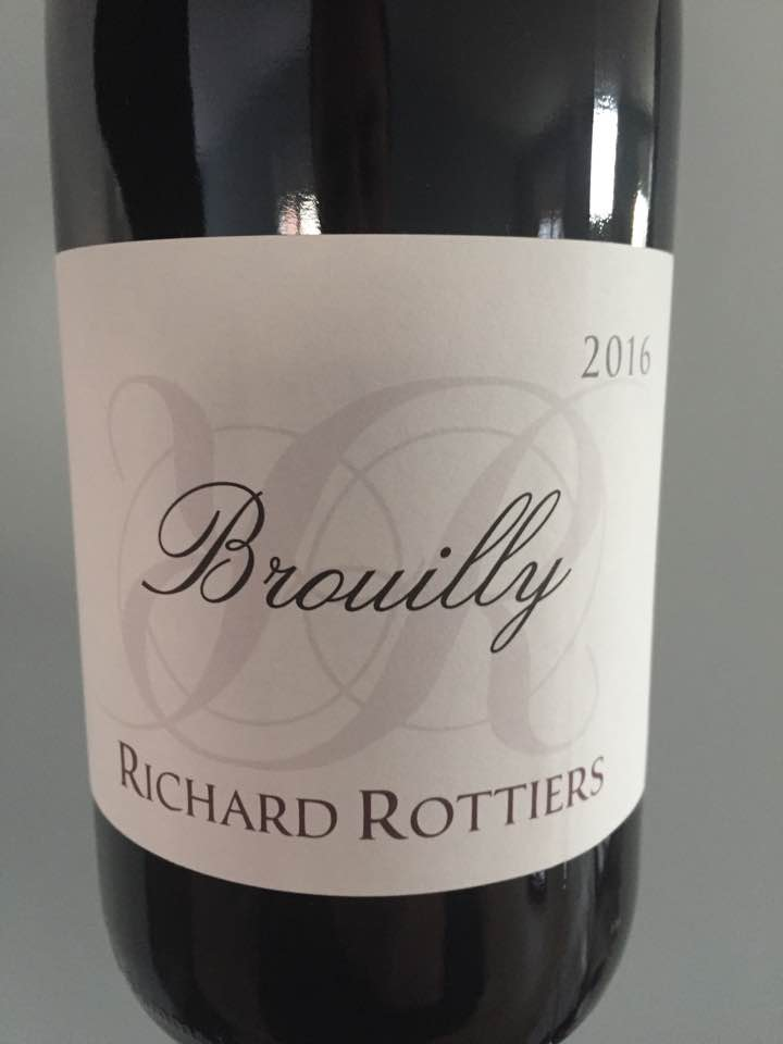 Domaine Richard Rottiers 2016 – Brouilly