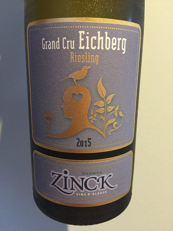 Domaine Zinck – Riesling 2015 – Grand Cru Eichberg – Alsace