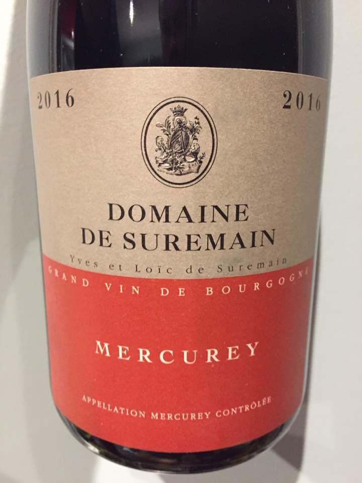 Domaine de Suremain 2016 – Mercurey