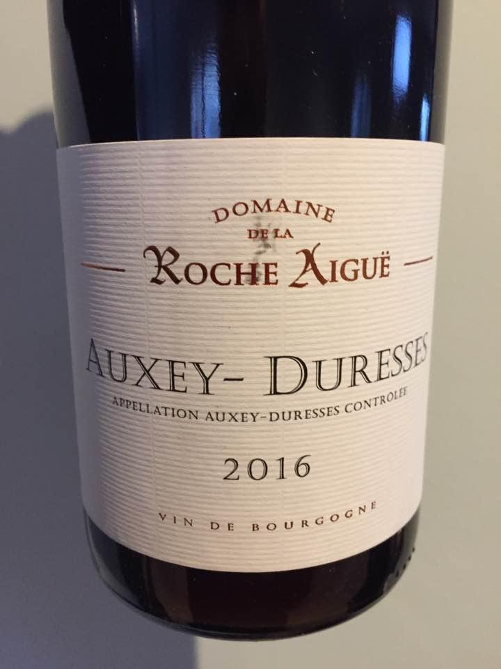 Domaine de la Roche Aiguë 2016 – Auxey-Duresses