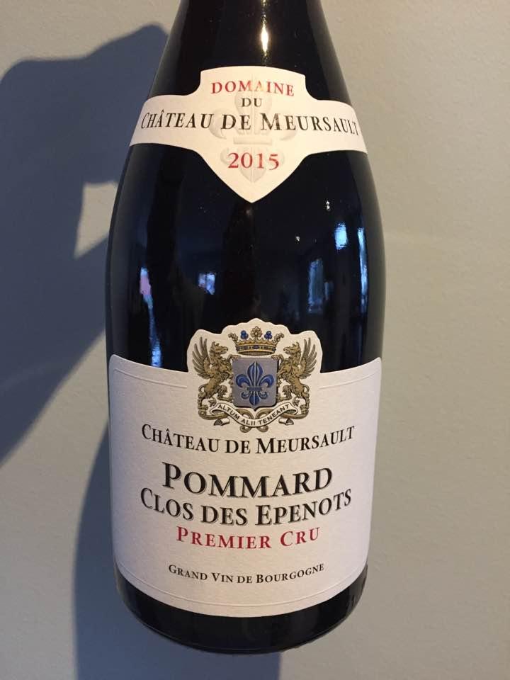 Domaine du Château de Meursault – Clos des Epenots 2015 – Pommard Premier Cru