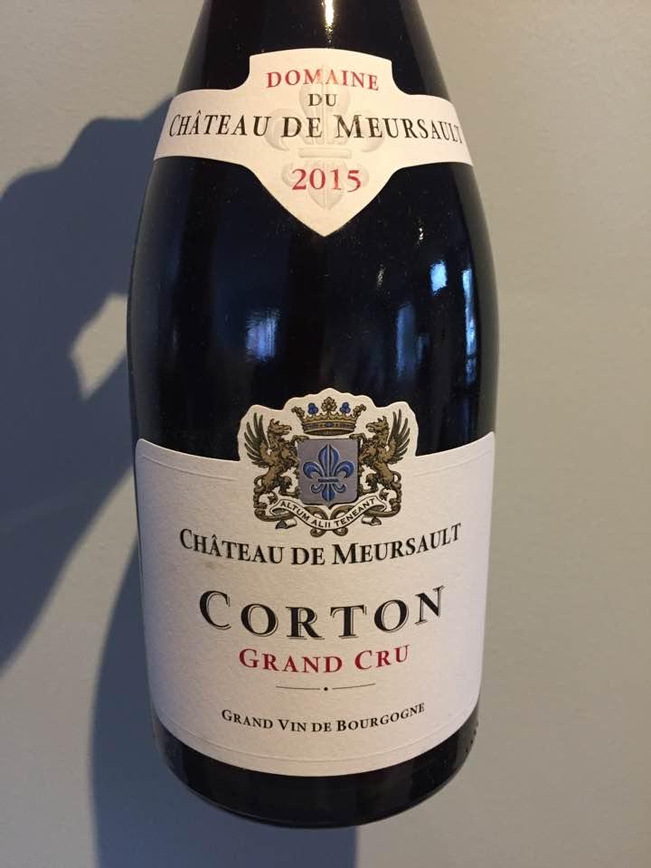 Domaine du Château de Meursault 2015 – Corton Grand Cru