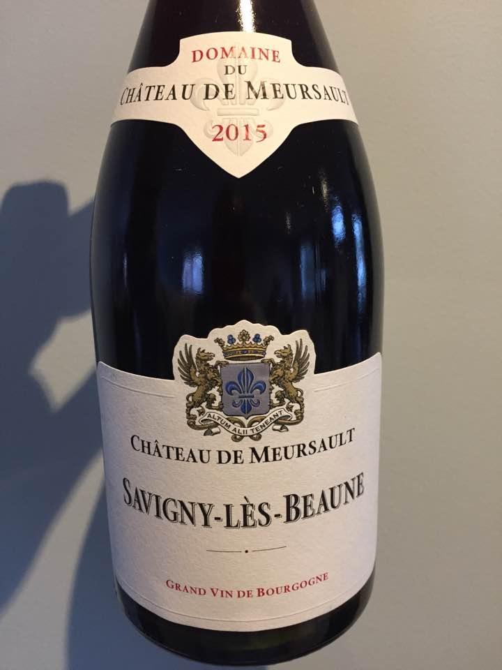 Domaine du Château de Meursault 2015 – Savigny-Lès-Beaune
