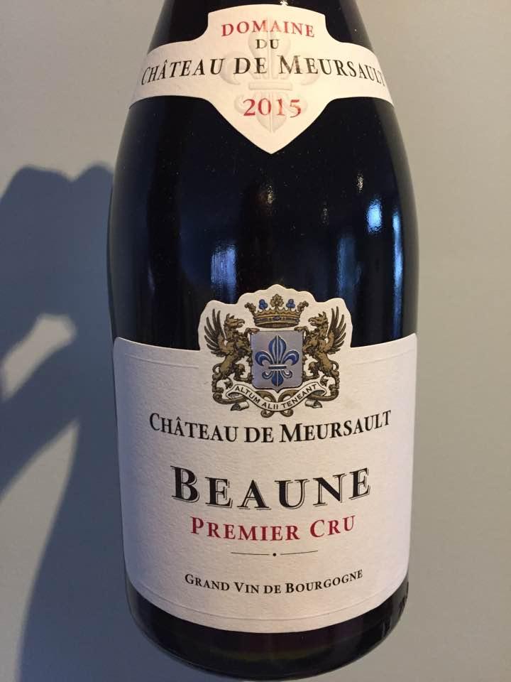 Domaine du Château de Meursault 2015 – Beaune Premier Cru