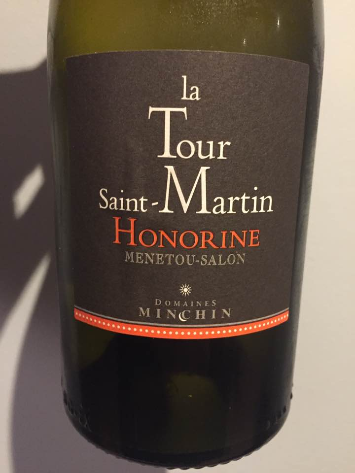 Domaines Minchin – La Tour Saint-Martin – Honorine 2015 – Menetou-Salon