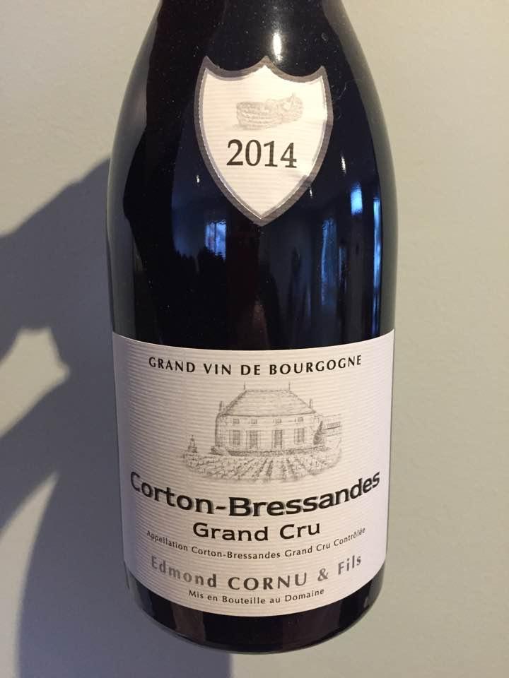 Edmond Cornu & Fils 2014 – Corton-Bressandes Grand Cru