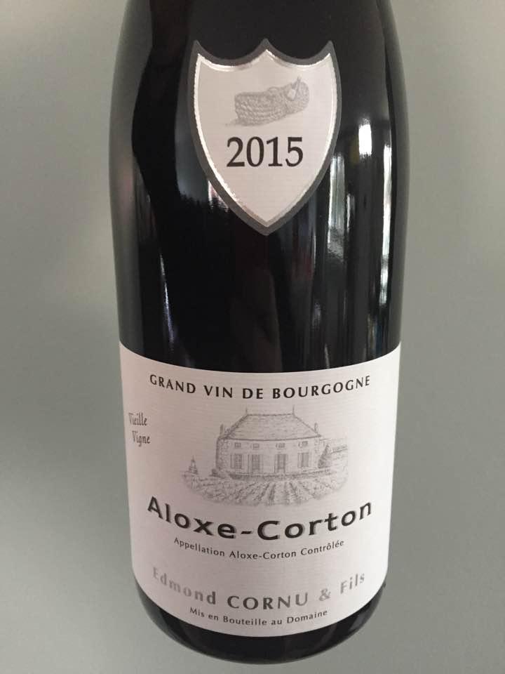 Edmond Cornu & Fils 2015 – Aloxe-Corton