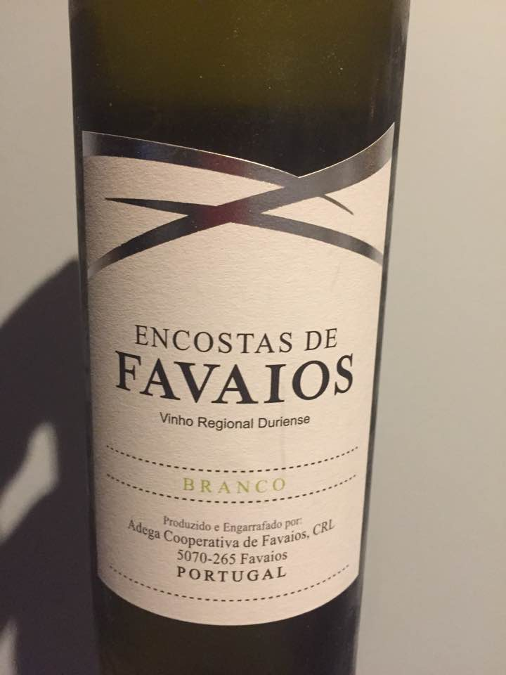 Encostas de Favaios – Branco 2016 – Vinho Regional Duriense (IGP)
