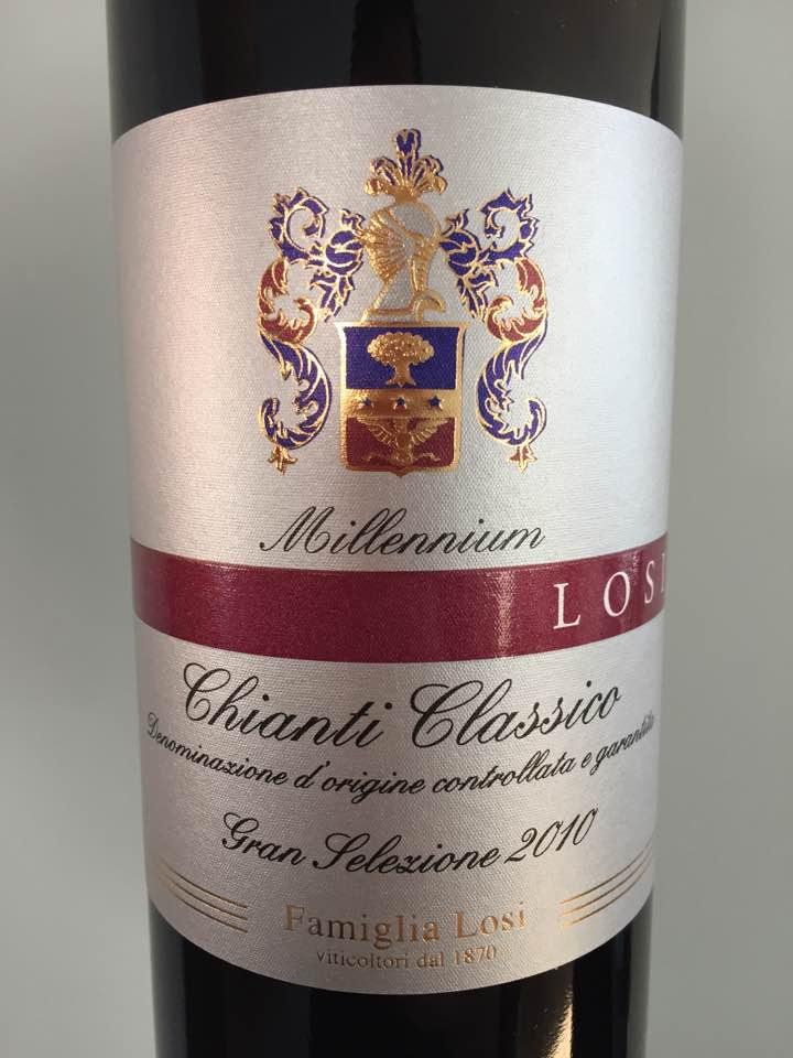 Famiglia Losi 2010 – Chianti Classico Gran Selezione