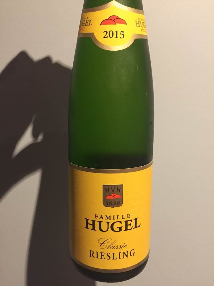 Famille Hugel – Classic Riesling 2015 – Alsace