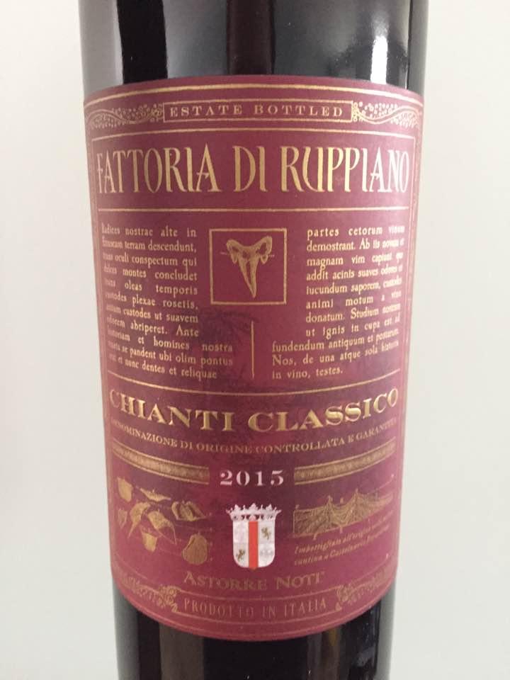 Fattoria di Ruppiano 2015 – Chianti Classico