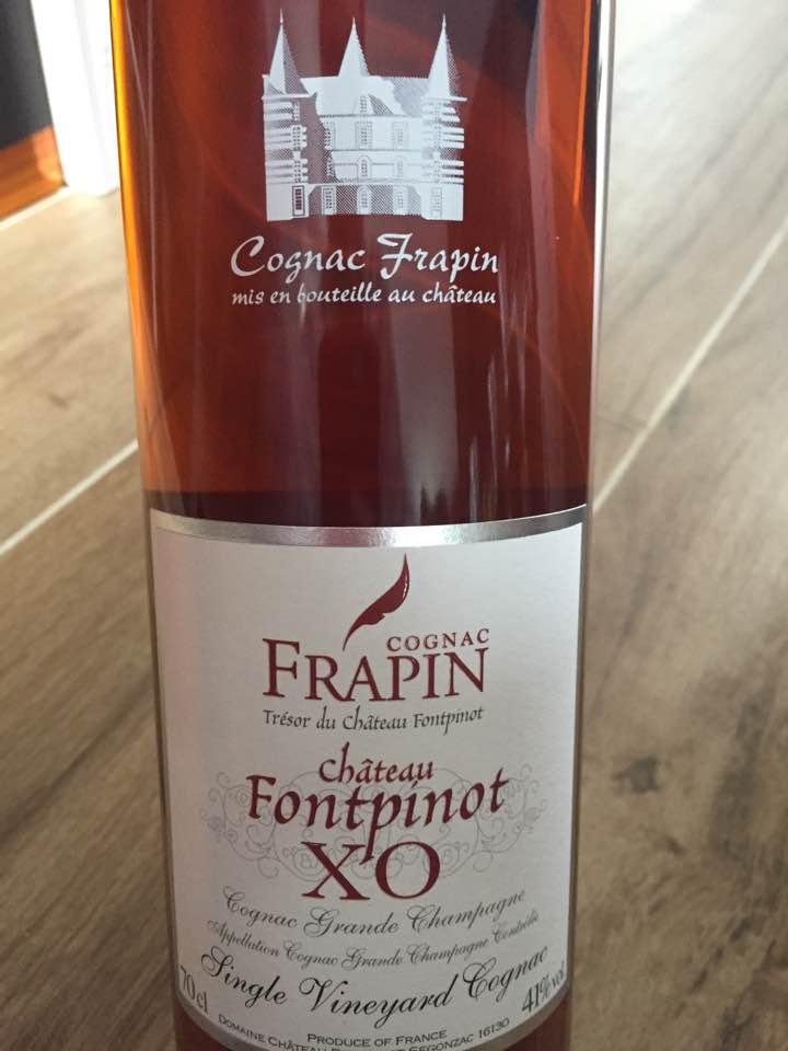 Frapin – Château Fontpinot – XO – Single Vineyard – Grande Champagne, Cognac