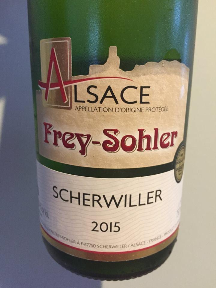 Frey-Sohler – Riesling 2015 Scherwiller – Alsace