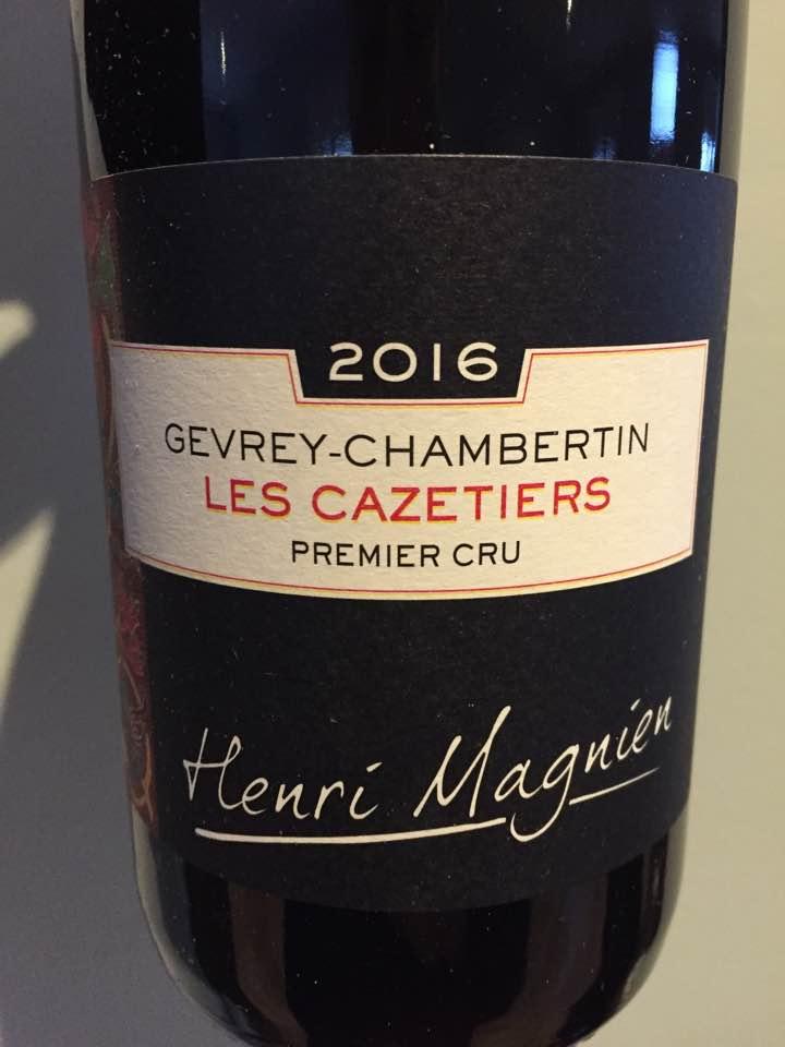 Henri Magnien 2016 – Les Cazetiers – Gevrey-Chambertin Premier Cru