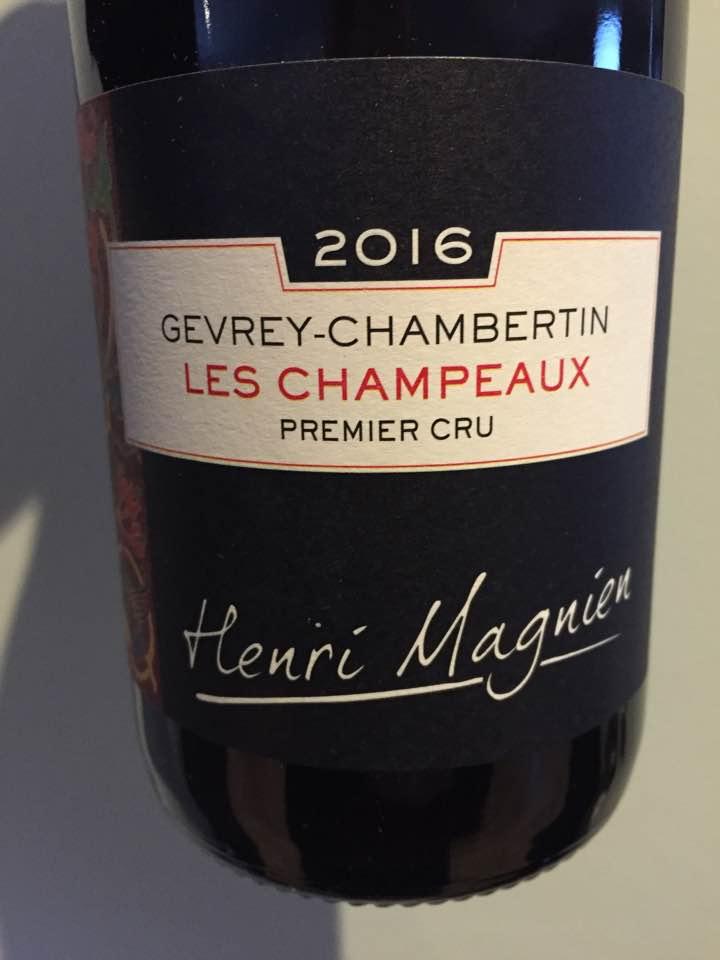 Henri Magnien 2016 – Les Champeaux – Gevrey-Chambertin Premier Cru