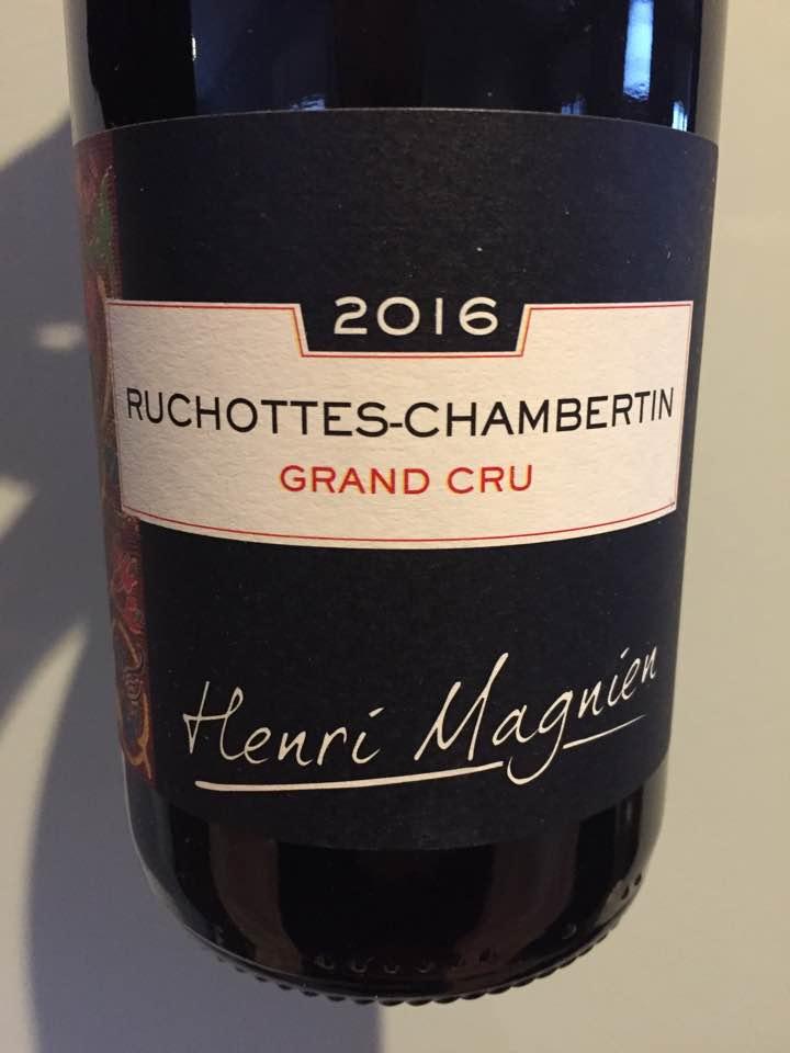 Henri Magnien 2016 – Ruchottes-Chambertin Grand Cru