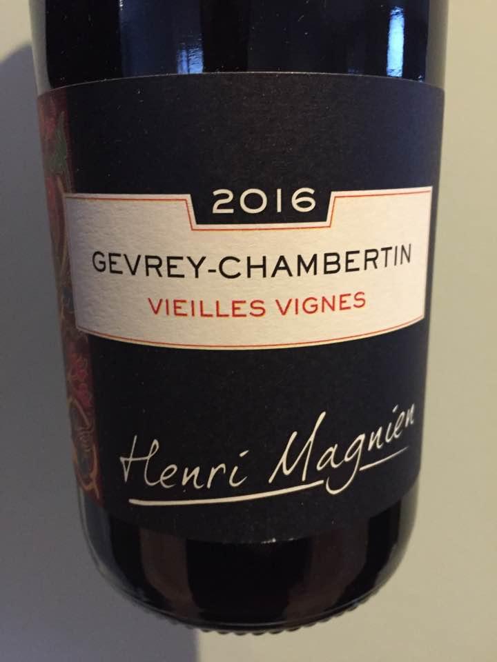 Henri Magnien 2016 – Vieilles Vignes – Gevrey- Chambertin