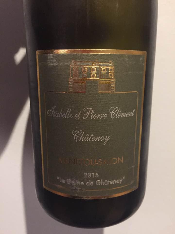 Isabelle et Pierre Clément Châtenoy – La Dame de Châtenoy 2015 – Menetou-Salon