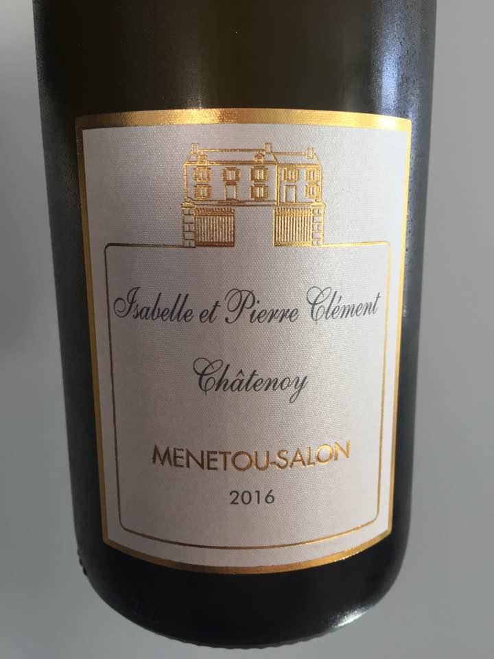 Isabelle et Pierre Clément Châtenoy 2016 – Menetou-Salon
