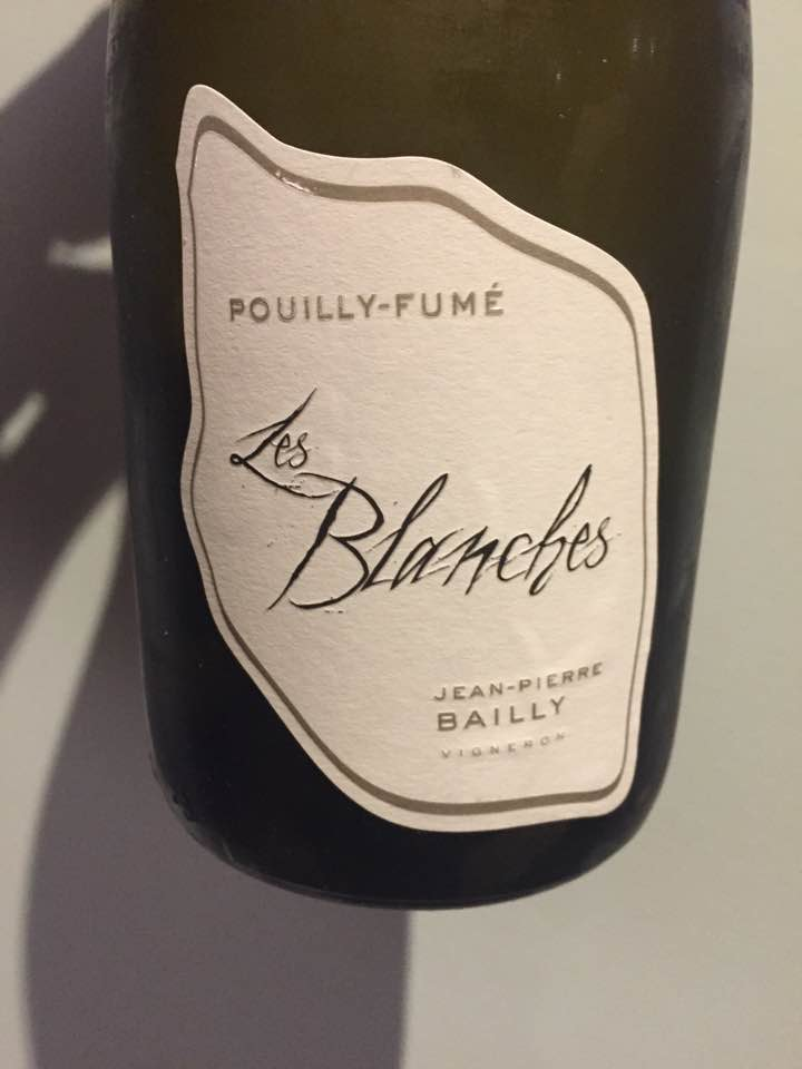 Jean-Pierre Bailly – Les Blanches 2016 – Pouilly-Fumé