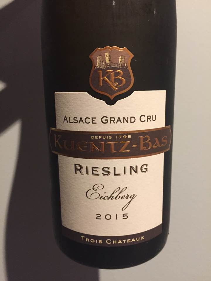 Kuentz-Bas – Trois Châteaux – Riesling 2015 – Eichberg – Alsace Grand Cru